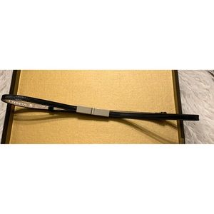 Express S/M Black & Silver Skinny Adjustable Belt